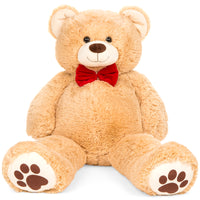 Deals on BCP 38-in Giant Plush Teddy Bear Stuffed Animal Toy w/Bow Tie