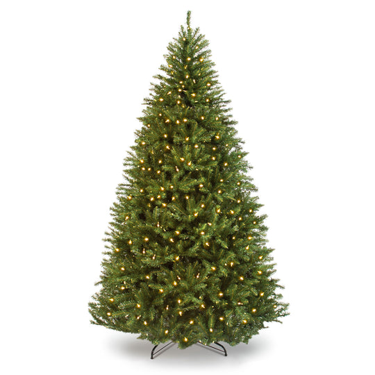 Pre-Lit Hinged Douglas Artificial Christmas Tree w/ Stand! 9.99- 9.99 (REG 9.99-9.99) + Free Shipping at Best Choice Products!