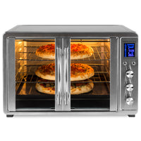 Deals on BCP 55L 1800W Extra Large Countertop Convection Toaster Oven