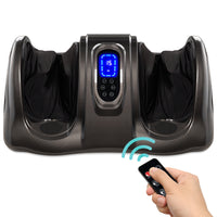 Deals on Therapeutic Foot Massager w/High Intensity Rollers, Remote, 3 Modes