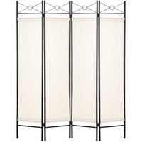 Deals on BCP 4-Panel Folding Privacy Screen Room Divider 6ft