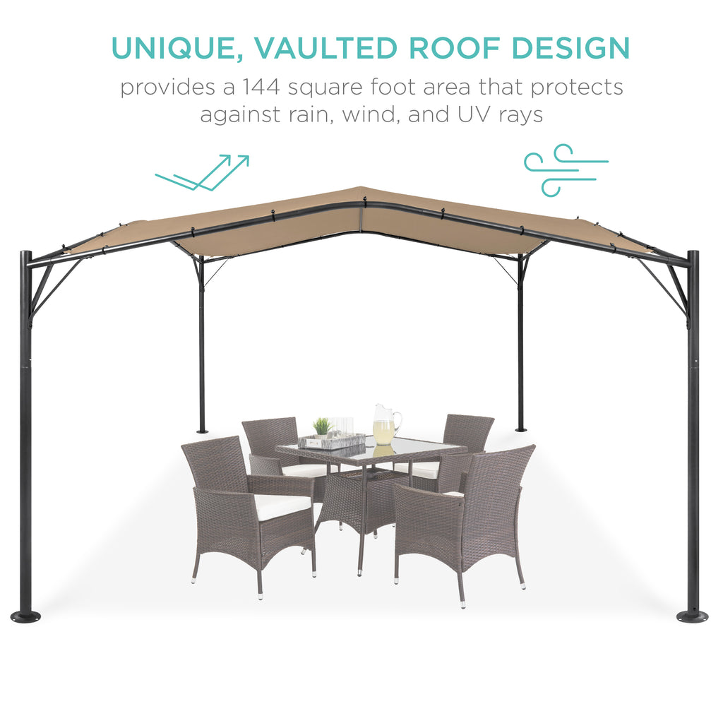 Gazebo Canopy w/ Weighted Bags - 12x12ft
