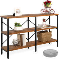 Deals on BCP 3-Tier Industrial Hallway Console Table for Living Room