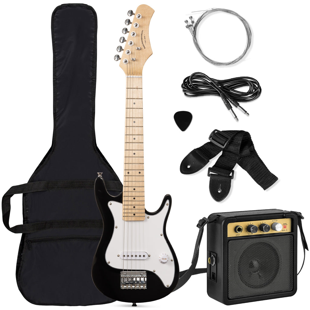 Kids Electric Guitar Beginner Starter Kit with Amplifier - 30 in