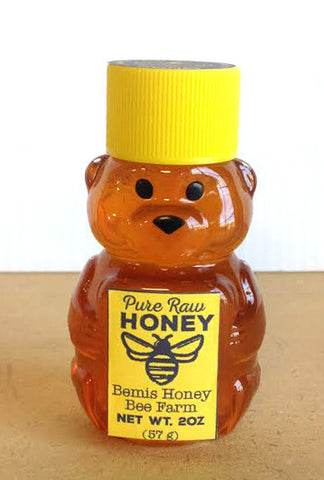 2 oz Plastic Honey Bear Bottle