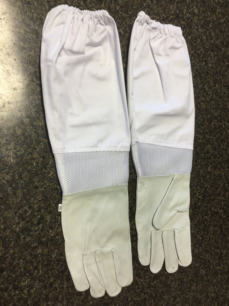 Goat Skin Vented Leather Gloves