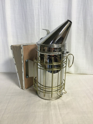 4x7 Stainless Steel Smoker w/ Shield