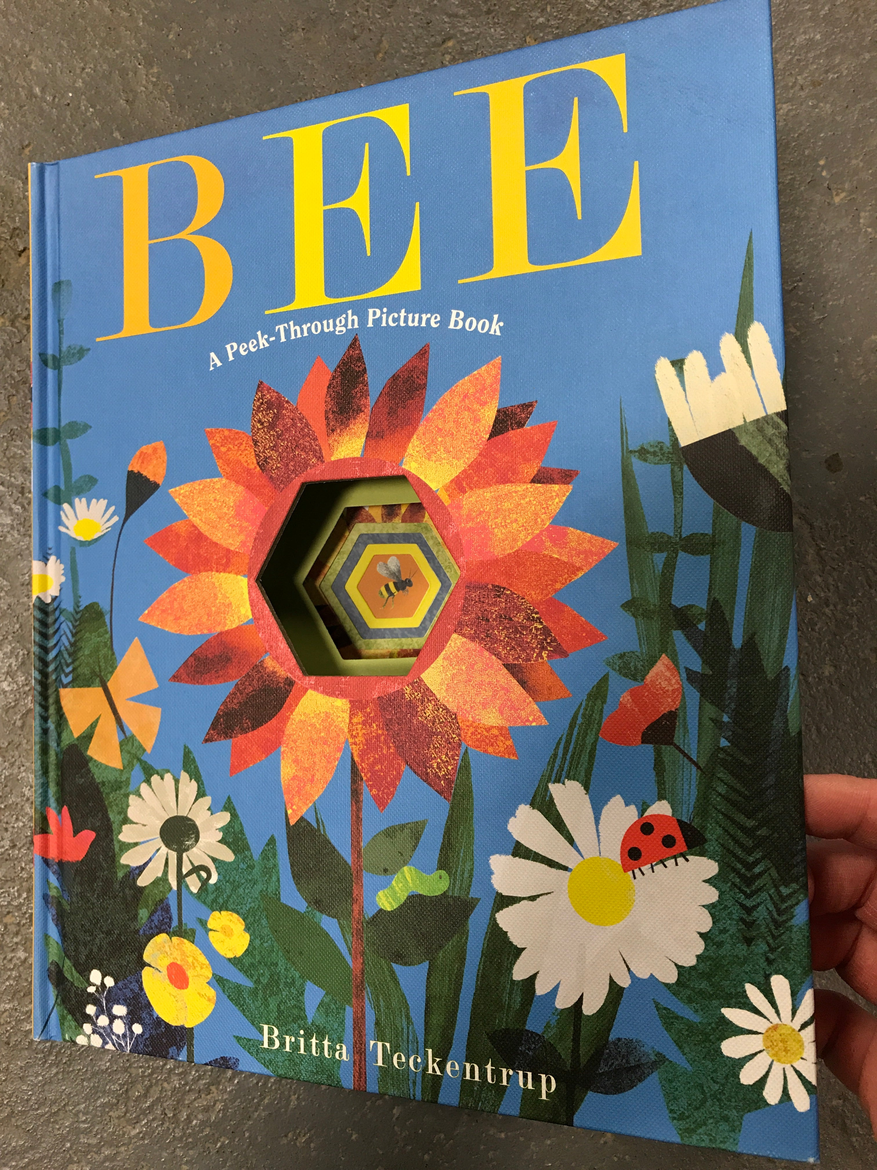 Bee A Peek-Through Picture Book