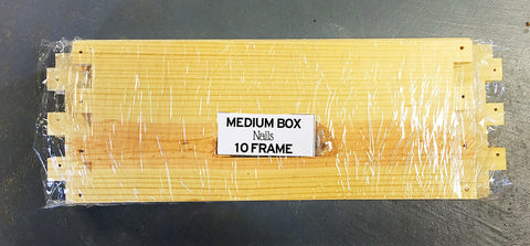 Medium Hive Body Unassembled (10 Frame)