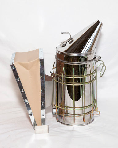 http://bemis-honey-bee-farm.myshopify.com/products/4x10-stainless-steel-smoker-w-shield