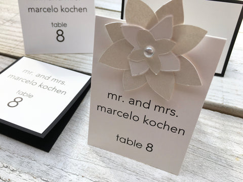 Seating and Table Cards