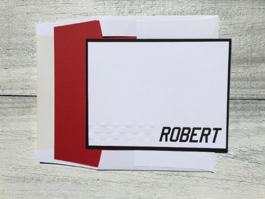 Personalized Stationery, Personalized Note Cards, Men's stationery, Men's Note Cards, Race Car Note Cards, Thank You Note Cards, Set of 8