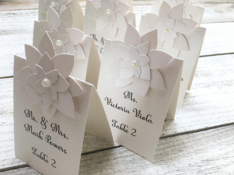 Table Seating Cards, Wedding Seating Cards, Table Cards, Seating Cards, Personalized Seating Cards, Place Cards, Set of 10