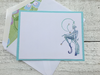 Fairy Note Cards, Fairy Stationery, Personalized Stationery, Fairy Thank You Notes, Handmade Stationery, Set of 8