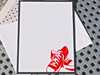All Star Note Cards, Note Cards, Sneaker Note Cards, Flat Cards, Handmade Stationery, Personalized Note Cards, Set of 8