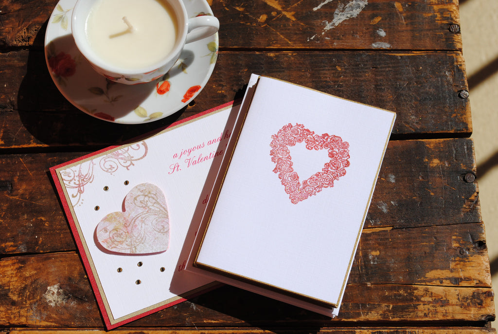 Valentine's Day Folded Notecards, Set of 6