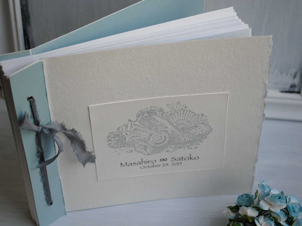 Hand Crafted Wedding or Event Guest Book