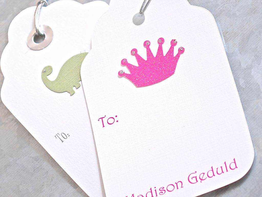 Personalized Gift Tags, Set of 5