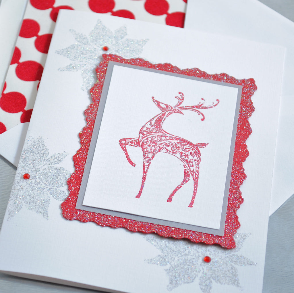 Rudolph Holiday Cards
