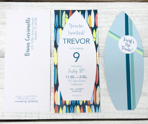 Custom Invitation, Birthday, Bat/Bar Mitzvah, Sweet Sixteen, Quinceañera, Wedding