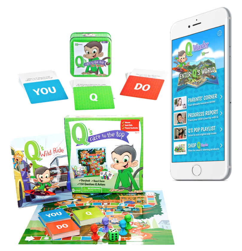 Q Wunder Bundle (1 year App Subscription, Board Game and On the Go)