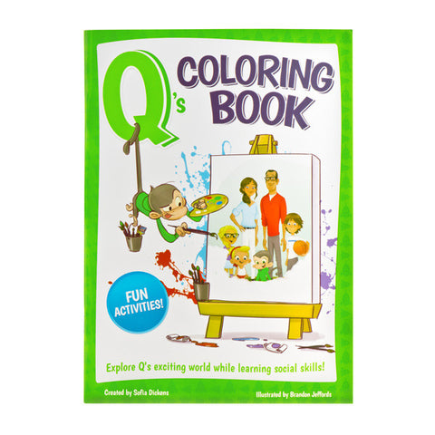 Q's Coloring Book