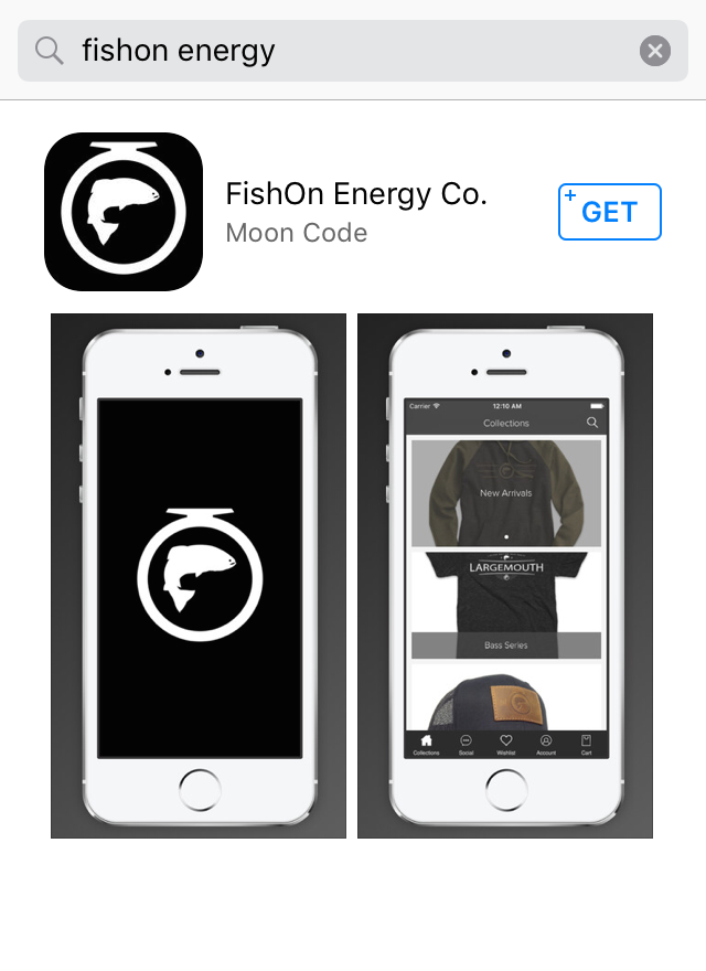 Download The FishOn APP