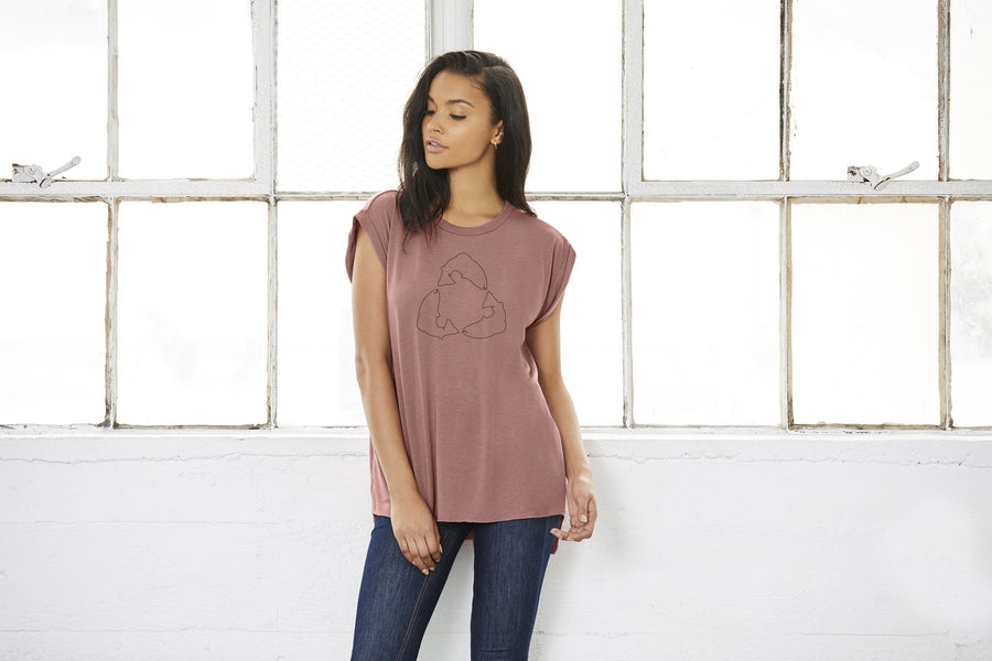 Catch & Release Sleeveless Tee - Ladies