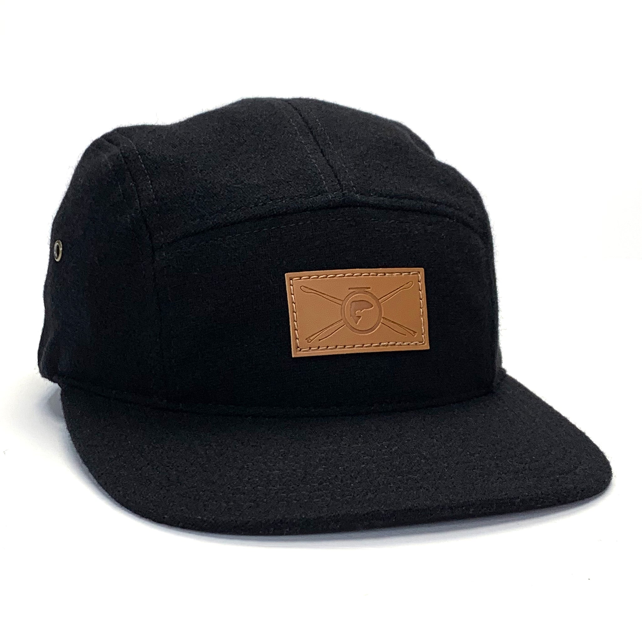 The Wool Camp Hat - Leather Patch