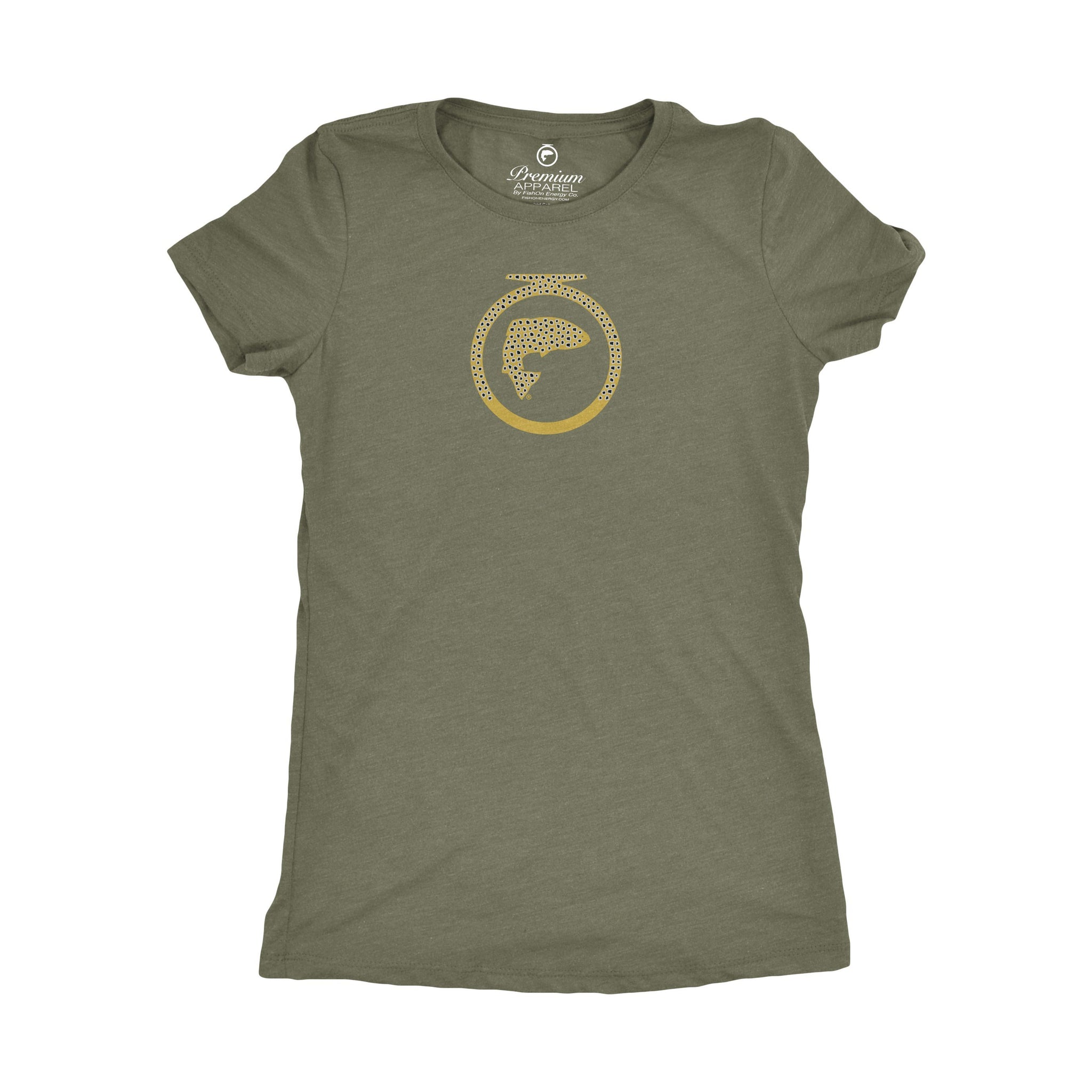 Brown Trout Logo Tee - Ladies