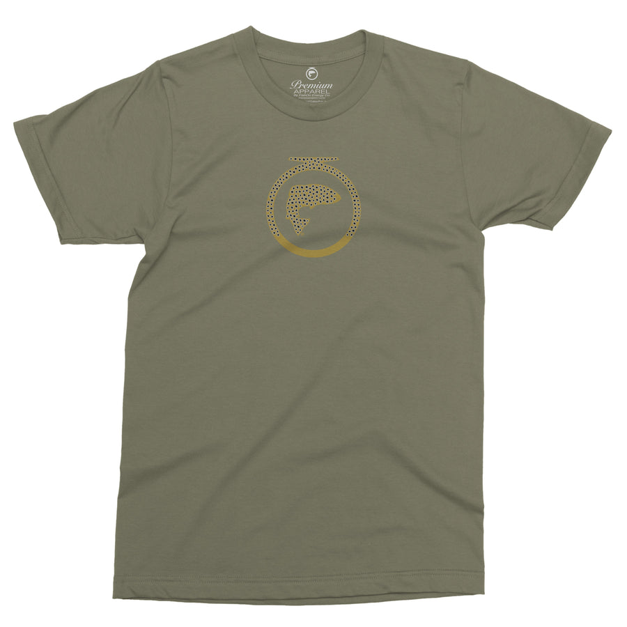 Brown Trout Logo Tee