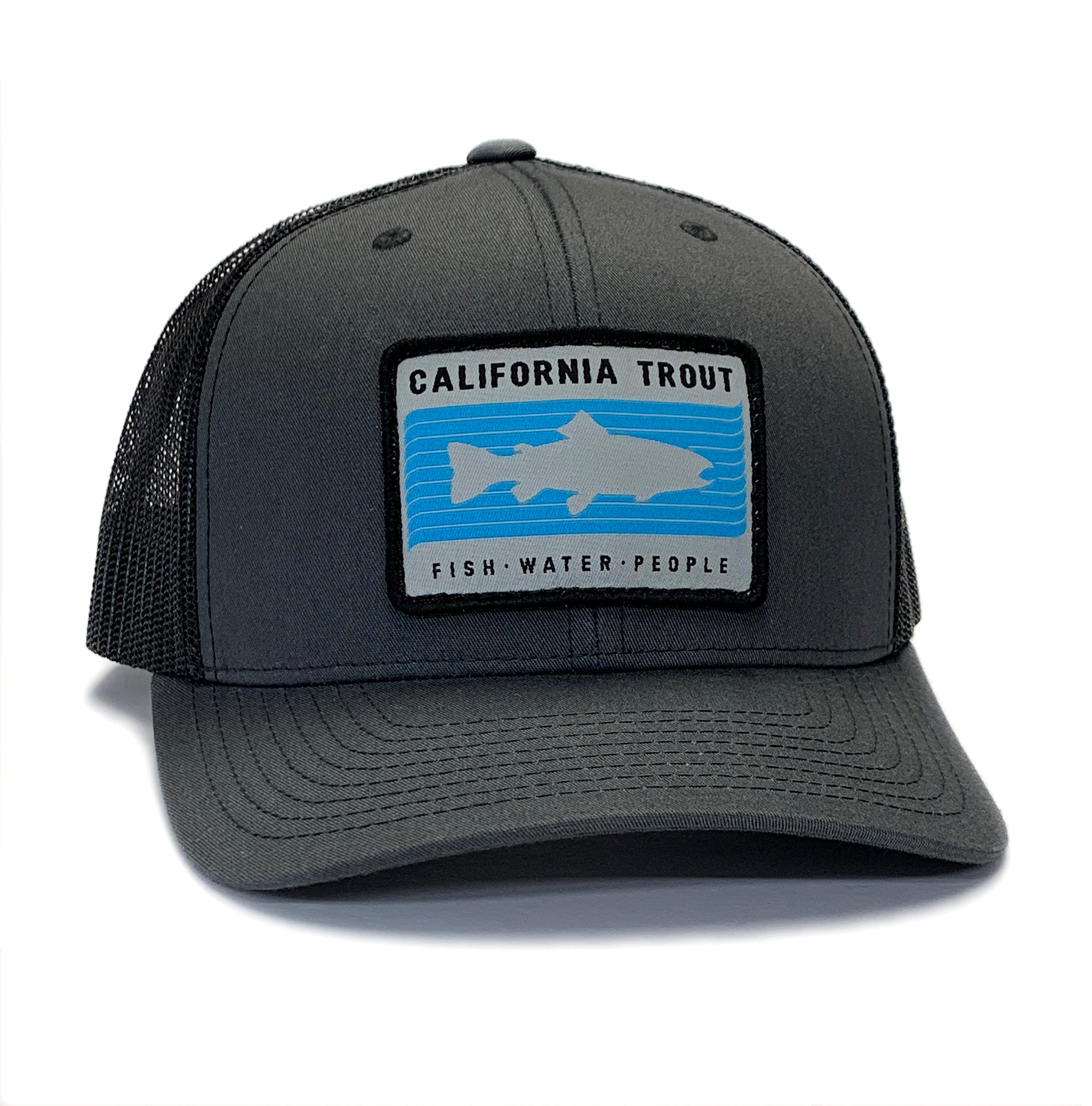 Cal Trout Trucker Hat (Unisex)