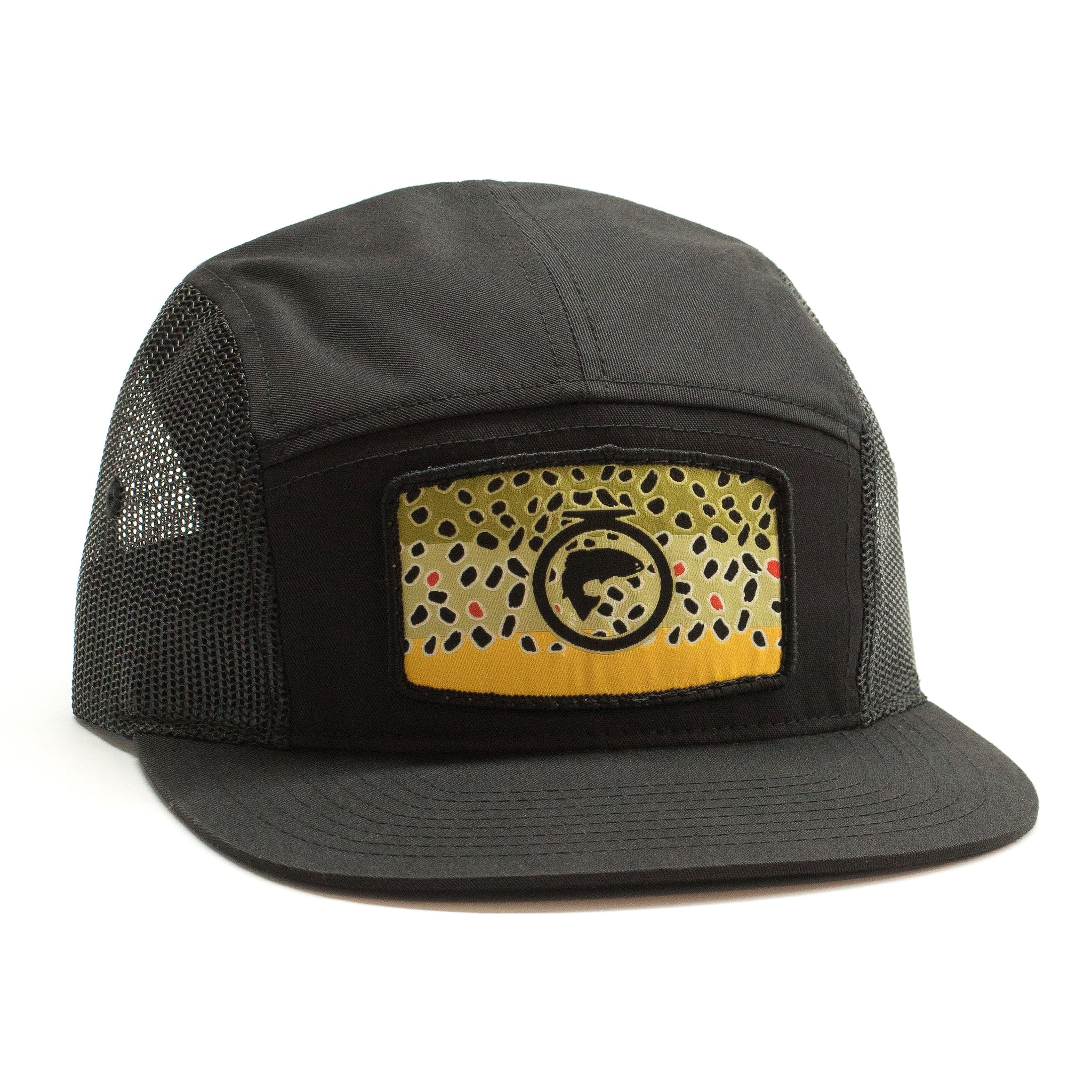 The Camp Hat - Brown Trout Patch