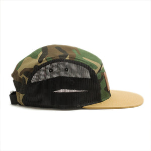 The Camp Hat - Leather Trout Patch
