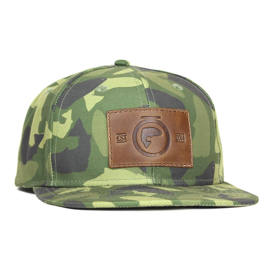 The Duke Camofish - Signature Series - Brown Leather