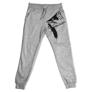 Predator Fleece Jogger Sweatpants (Unisex) - Gray