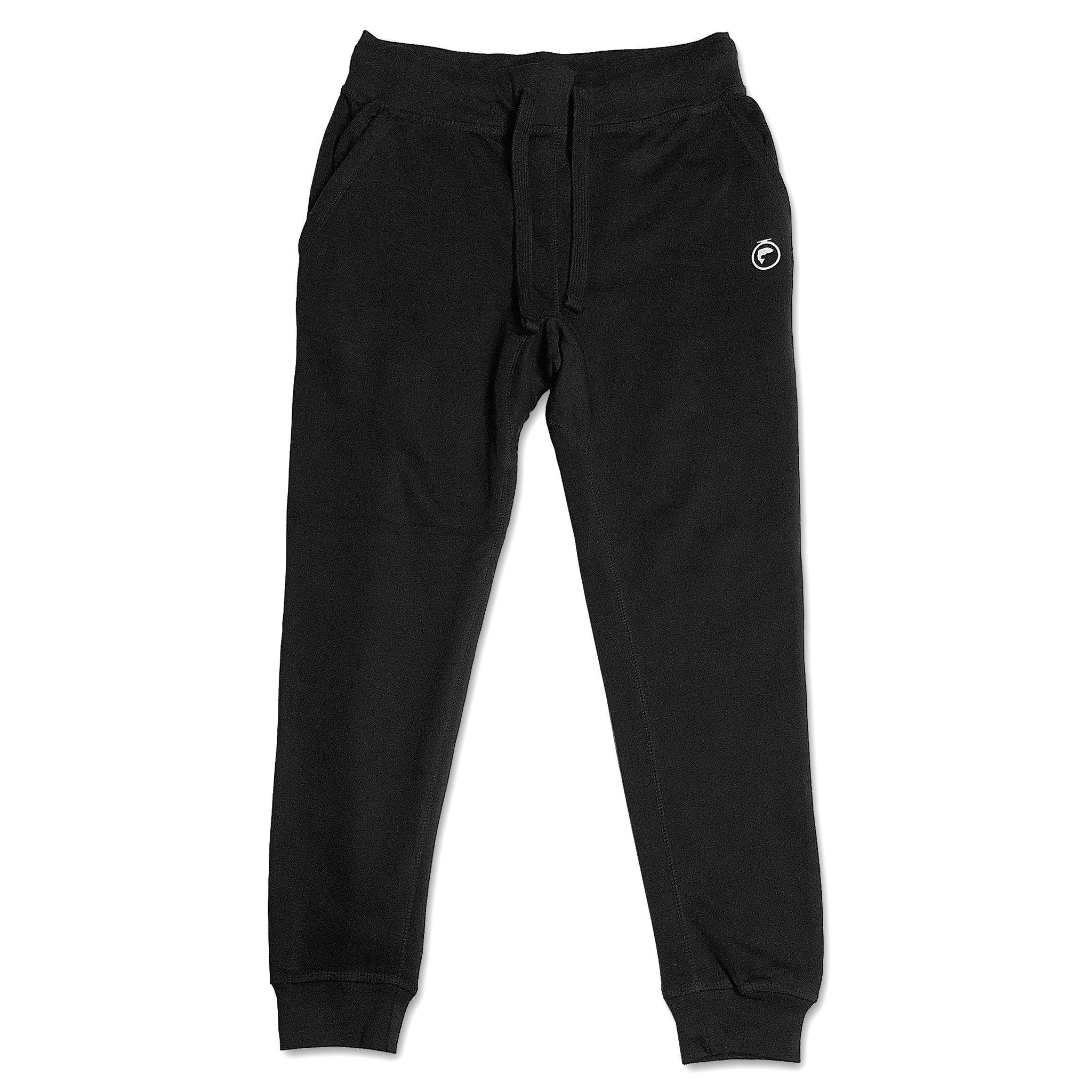 Fleece Jogger Sweatpants (Unisex) - Black