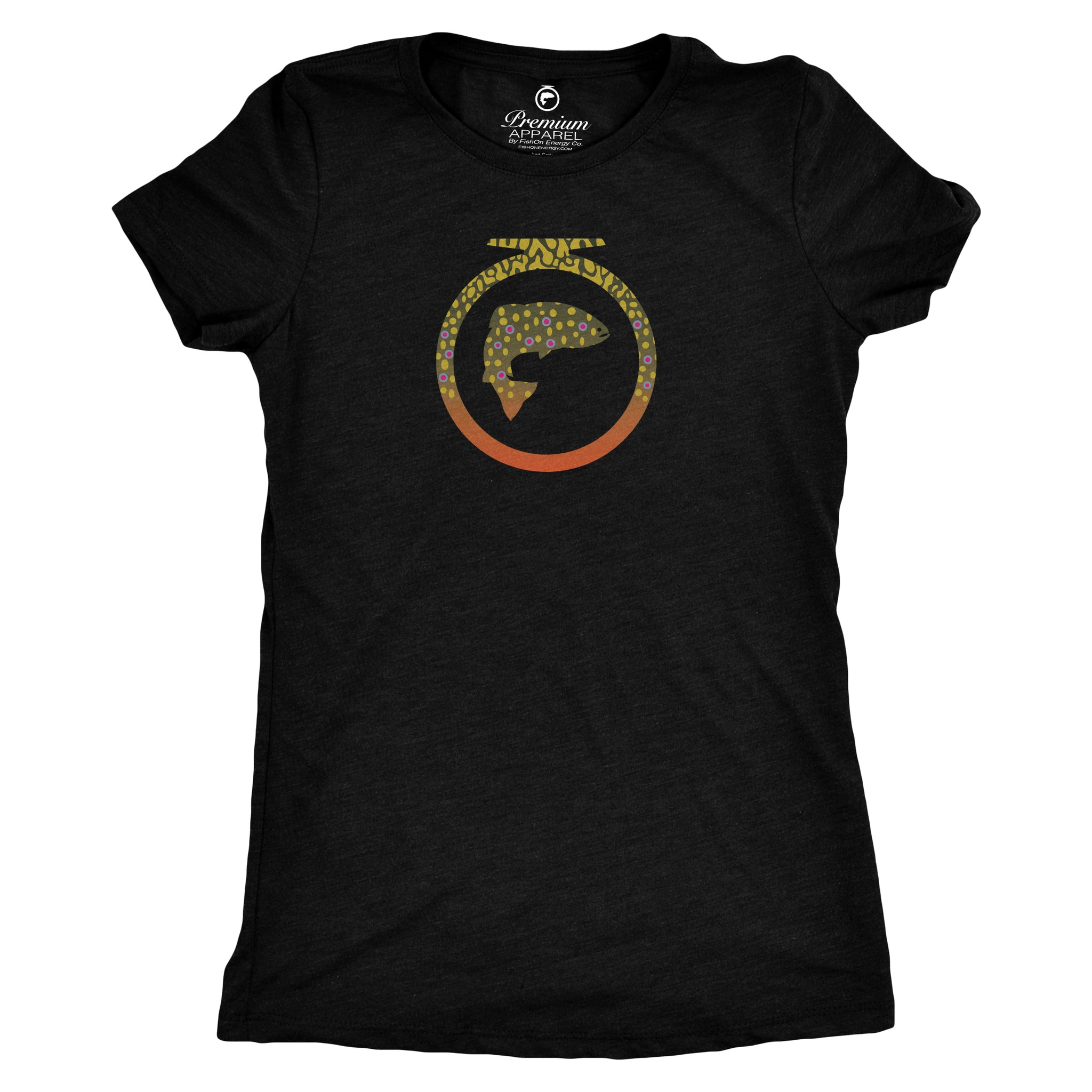 Skins Tee - Brook Trout - Ladies