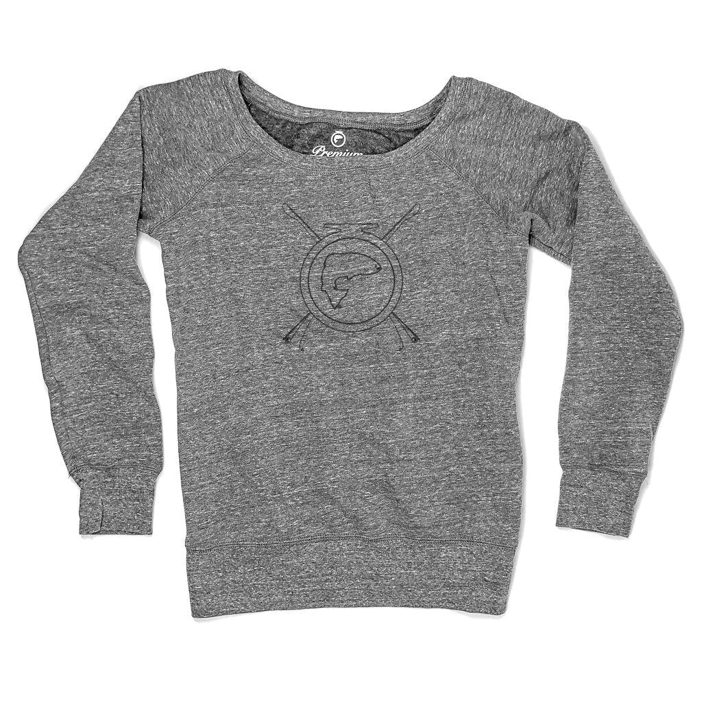 Rods N Roll Fleece Sweatshirt - Ladies
