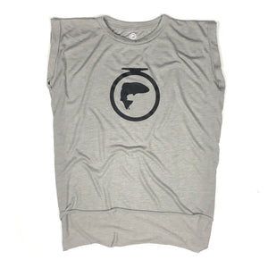 "6"" Logo Sleeveless Tee - Ladies"