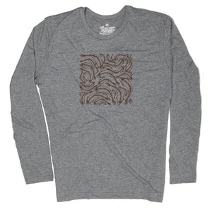 Trout Print Tee - Long Sleeve