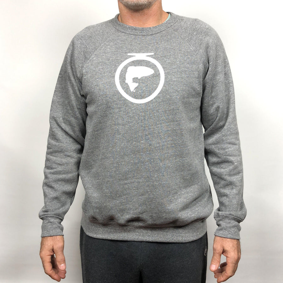Sweatshirt with Icon Sleeve Print (Unisex)
