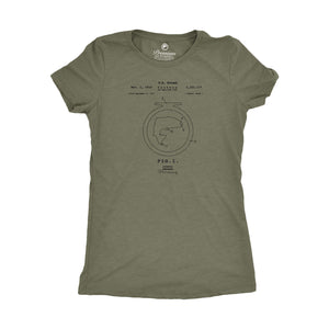 Patent Tee - Ladies