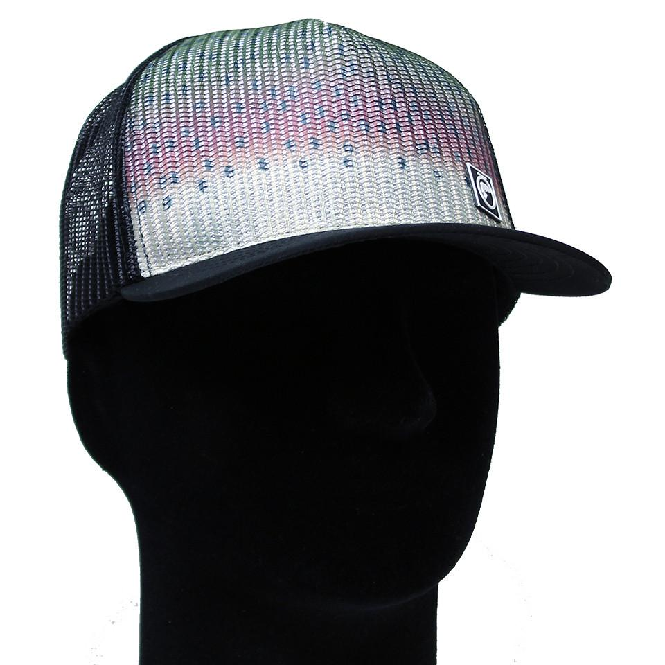 Fly Fishing Rainbow Trout Skin Hat f41d5920b446