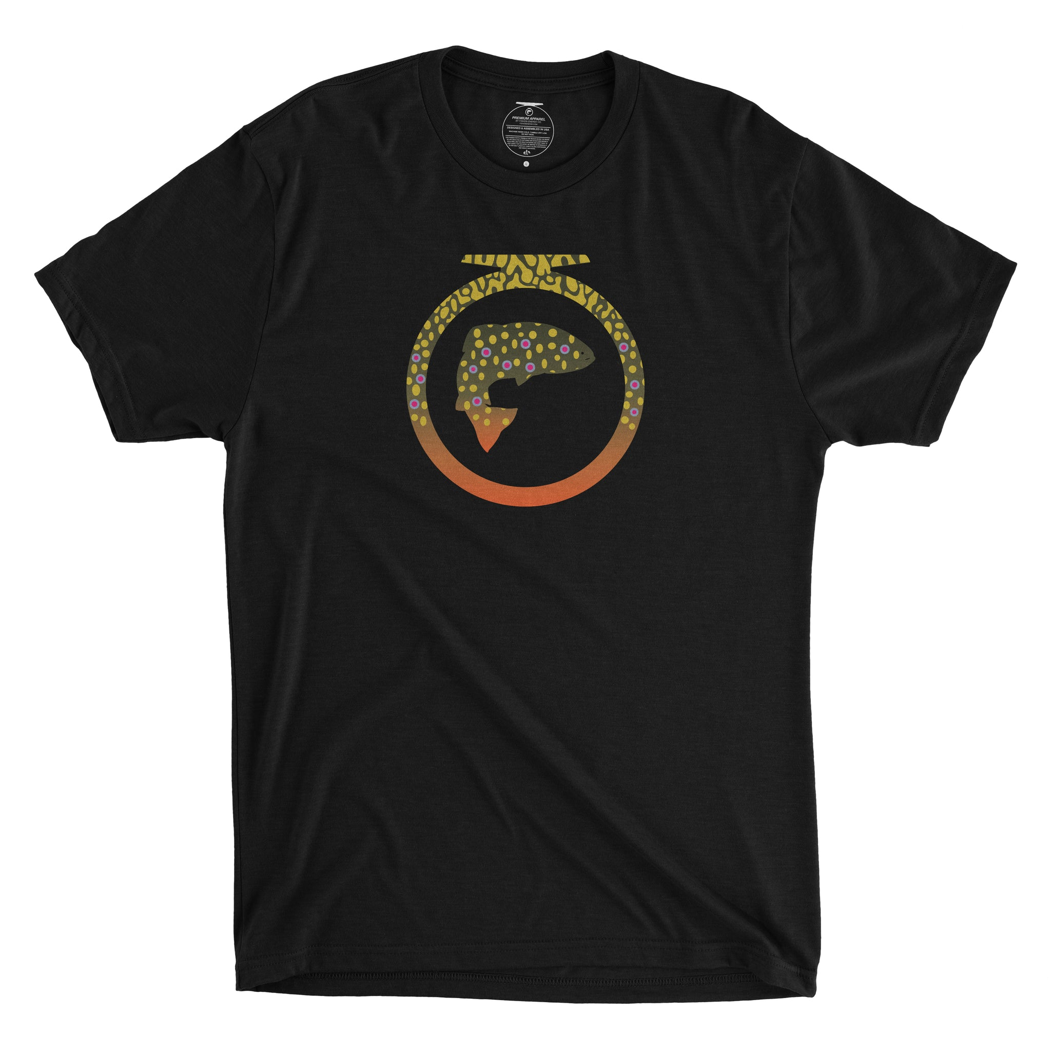Skins Tee - Brook Trout - Unisex
