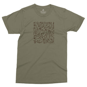 Trout Print Tee