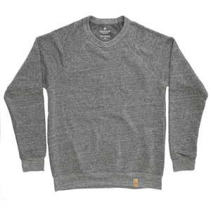 Sweatshirt - Gray - Leather Label (Unisex)