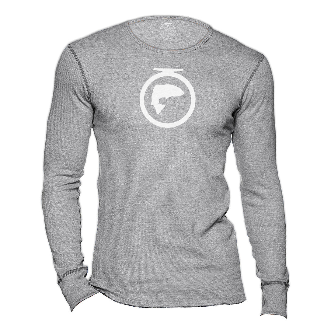 Long Sleeve Thermal - White Logo