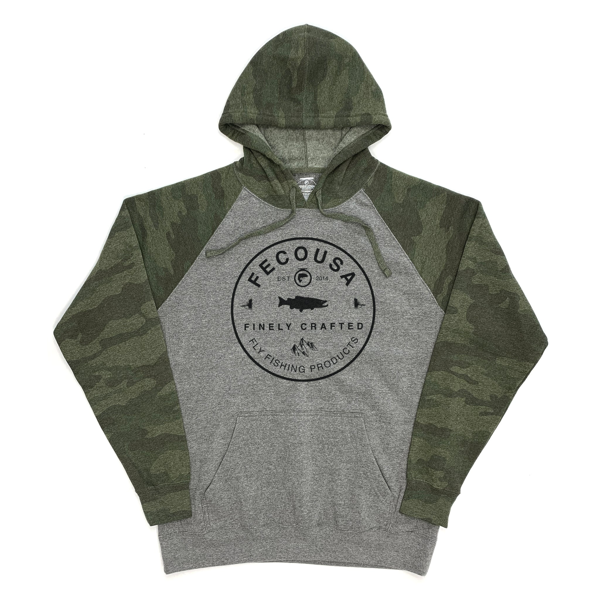 Finely Crafted Hoodie (Unisex) - Camo/Heather