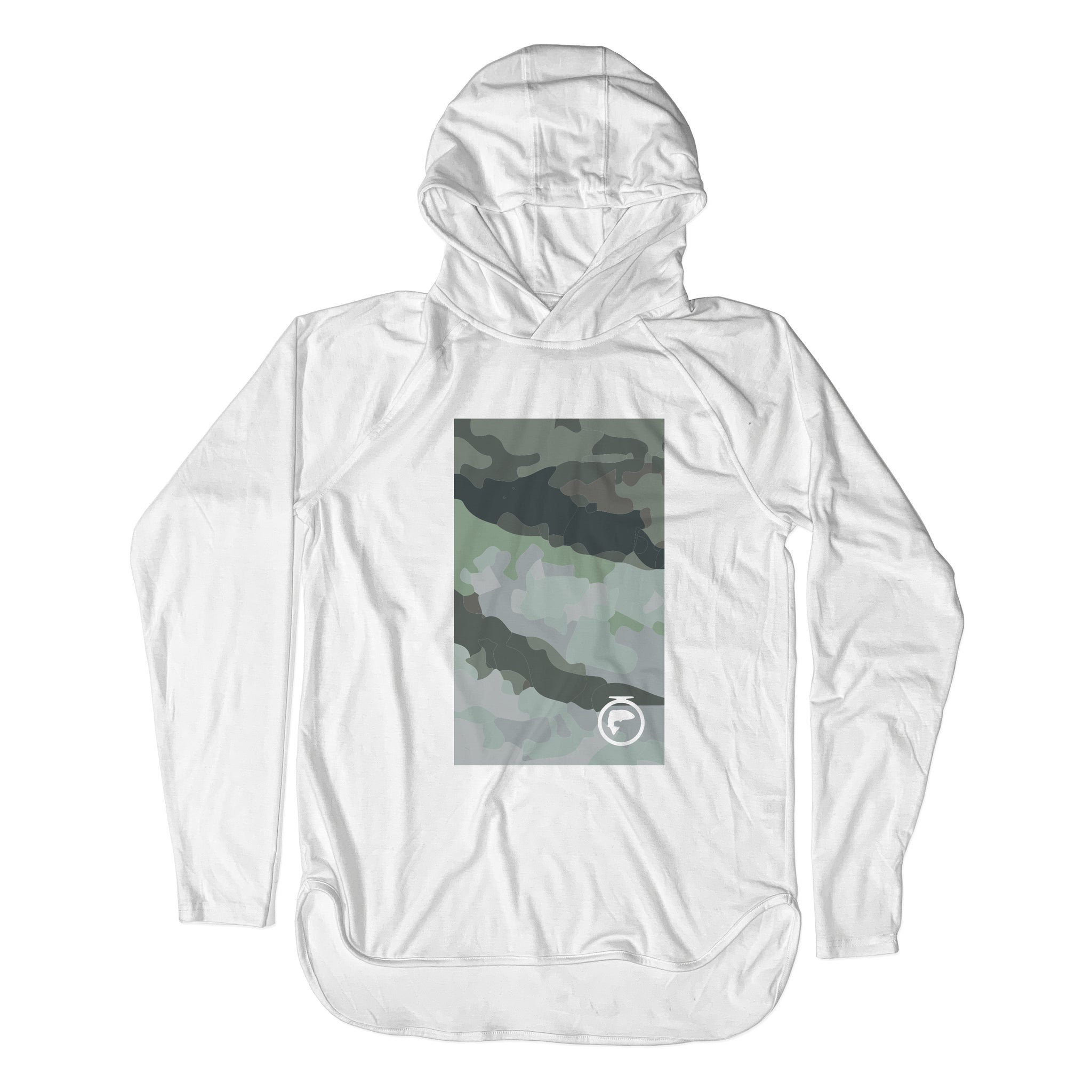 Xtreme Performance Pullover Sun Hoodie - Rooster Fish Skin Art - Unisex